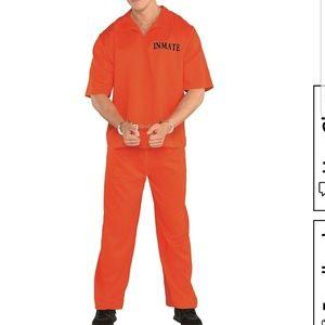 Mens Inmate Costume